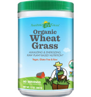 Amazing Grass Organic Wheat Grass, 480 g | NutriFarm.ca