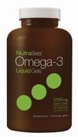 Ascenta NutraSea Omega-3 Liquid Gels (Fresh Mint), 150 soft gels | NutriFarm.ca