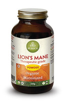 Purica Lion's Mane Powder, 100 g | NutriFarm.ca