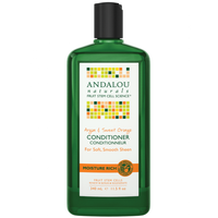 Andalou Naturals Sweet Orange Argan Moisture Conditioner, 340 ml | NutriFarm.ca