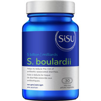 SISU S. Boulardii 5 Billion, 30 Vegetable Capsules | NutriFarm.ca