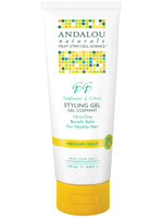 Andalou Naturals Sunflower and Citrus Styling Gel, 200 ml | NutriFarm.ca