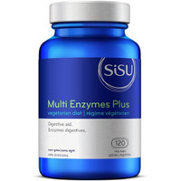 SISU Multi Enzymes Plus, 120 Vegetable Capsules | NutriFarm.ca