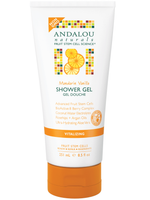 Andalou Naturals Mandarin Vanilla Vitalizing Shower Gel, 251 ml | NutriFarm.ca
