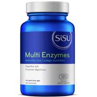 SISU Multi Enzymes, 120 Vegetable Capsules | NutriFarm.ca