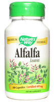 Nature's Way Alfalfa Leaves, 100 Capsules