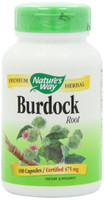 Nature's Way Burdock Root, 100 Capsules | NutriFarm.ca