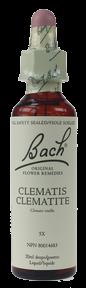 Bach Clematis, 20 ml | NutriFarm.ca