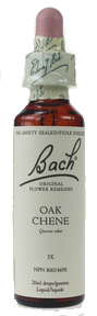 Bach Oak, 20 ml | NutriFarm.ca