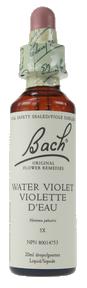 Bach Water Violet, 20 ml | NutriFarm.ca