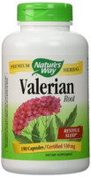 Nature's Way Valerian Root, 180 Capsules | NutriFarm.ca