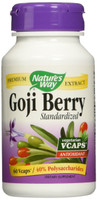 Nature's Way Goji Berry Standardized, 60 Vegetable Capsules | NutriFarm.ca