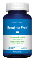 Monnol Breathe Free, 90 Tablets | NutriFarm.ca