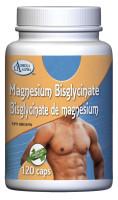 Omega Alpha Magnesium Bisglycinate, 120 Vegetable Capsules | NutriFarm.ca