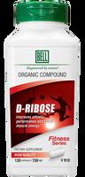 Bell D-Ribose 750 mg, 120 Capsules   NutriFarm.ca
