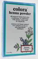Colora Henna Powder Natural Organic Hair color (Brown), 60 g | NutriFarm.ca