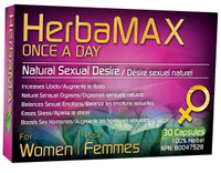 HerbaMax Women – Once a Day, 30 Capsules   NutriFarm.ca