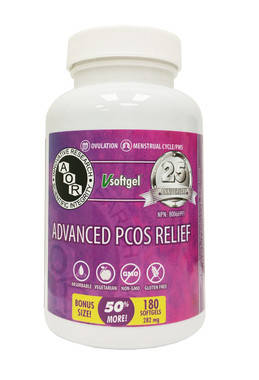 AOR Advanced PCOS Relief, 120 + 60 FREE Softgels | NutriFarm.ca