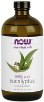 NOW Eucalyptus Oil, 473 ml | NutriFarm.ca