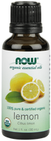 NOW Organic Lemon Oil, 30 ml | NutriFarm.ca