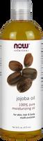 NOW Pure Jojoba Oil, 473 ml | NutriFarm.ca