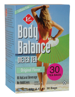 Uncle Lee's Tea Body Balance Dieter Tea (Original), 30 Tea Bags | NutriFarm.ca