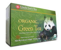 Uncle Lee's Tea Legends of China Organic Green Tea, 100 Bags | NutriFarm.ca