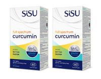 SISU Full Spectrum Curcumin, 2 x 60 Softgels | NutriFarm.ca