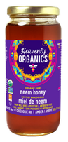 Heavenly Organics Neem Honey, 500 g | NutriFarm.ca