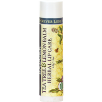Badger Balm Tea Tree and Herbal Lip Balm, 4.2 g | NutriFarm.ca