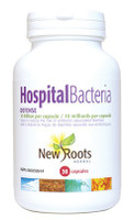 New Roots Hospital Bacteria Defense 10 Billion, 30 Capsules | NutriFarm.ca