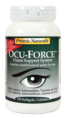 Prairie Naturals Ocu-Force Vision Support, 120 Softgels | NutriFarm.ca