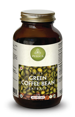 Purica Green Coffee Bean Extract, 120 Veg Caps | NutriFarm.ca