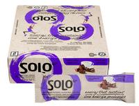 Solo GI Mocha Fudge, Box of 12 (50 g/bar) | NutriFarm.ca