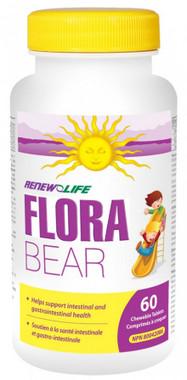RENEW LIFE FloraBEAR, 60 Chewable Tablets | NutriFarm.ca