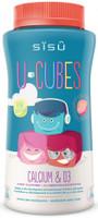 SISU U-Cubes Calcium & D3, 120 Gummies | NutriFarm.ca