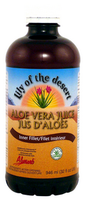Lily of The Desert Aloe Vera Juice (Inner Fillet), 946 ml | NutriFarm.ca