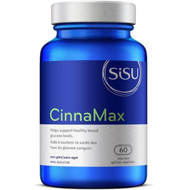 SISU CinnaMax, 60 Vegetable Capsules | NutriFarm.ca