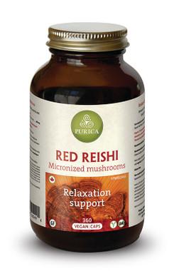 Purica Red Reishi, 360 Veg Caps | NutriFarm.ca