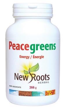 New Roots Peacegreens, 266 g | NutriFarm.ca