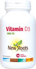 New Roots Vitamin D3, 180 Tablets | NutriFarm.ca