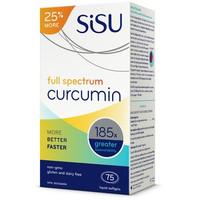 SISU Full Spectrum Curcumin, 60 + 15 FREE Softgels (Bonus Size) | NutriFarm.ca