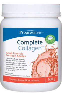 Progressive Complete Collagen Tropical Breeze, 500 g   NutriFarm.ca