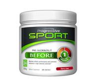 Progressive Sport Pre-Workout Before Cherry Lime, 318 g | NutriFarm.ca