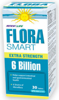 RENEW LIFE FloraSMART EXTRA STRENGTH 6 Billion, 30 Tablets | NutriFarm.ca