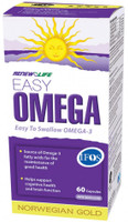 RENEW LIFE Norwegian Gold Easy Omega, 60 Capsules | NutriFarm.ca