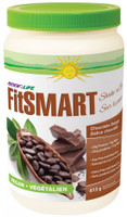 RENEW LIFE FitSMART Vegan Shake Chocolate Delight, 613 g | NutriFarm.ca
