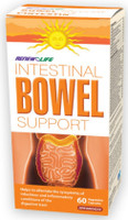RENEW LIFE Intestinal Bowel Support, 60 Vegetable Capsules | NutriFarm.ca