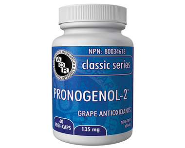 AOR Pronogenol-2, 60 Vegetable Capsules | NutriFarm.ca