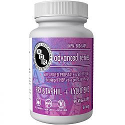 AOR Prostaphil and Lycopene, 90 Vegetable Capsules | NutriFarm.ca